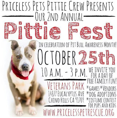 2nd Annual Priceless Pets Pittie Crew Pittie Fest!