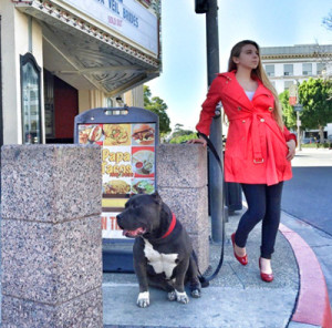 A Girl and Her Dog – Pet Owner of the Month September 2015